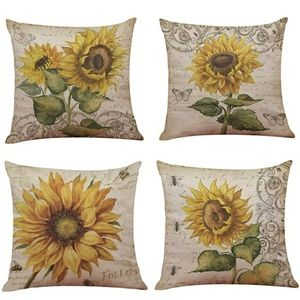 Other - Sunflower Accent pillow covers/4 piece set